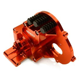 Integy C28196RED Alloy Gearbox Housing for Traxxas 1/10 Stampede 2WD, Rustler, Bandit & Bigfoot