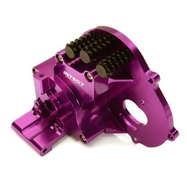 Integy C28196PURPLE Alloy Gearbox Housing for Traxxas 1/10 Stampede 2WD, Rustler, Bandit & Bigfoot