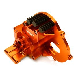 Integy C28196ORANGE Alloy Gearbox Housing for Traxxas 1/10 Stampede 2WD, Rustler, Bandit & Bigfoot