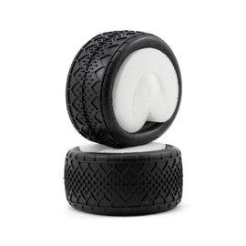 J Concepts JCO3033-02  Green Bar Codes V2 Rear 1/10 2.2 Buggy Tires