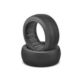J Concepts JCO3175-02  Green Super Soft Stalkers 1/8th Buggy Tire (2)