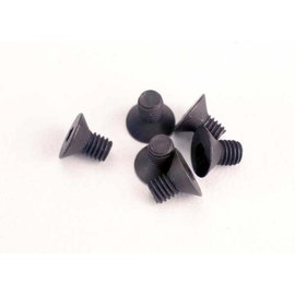 Traxxas TRA2549   Screws, 3x5mm countersunk machine (6) (hex drive)