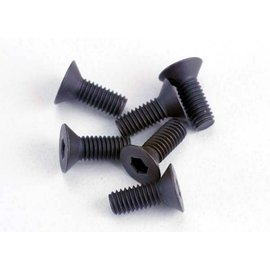 Traxxas TRA2550  3x8mm Countersunk Hex Screws (6)
