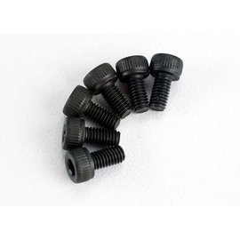 Traxxas TRA2554  Screws, 3x6mm cap-head machine (hex drive) (6)