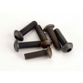 Traxxas TRA2577  Screws, 3x10mm button-head machine (hex drive) (6)