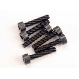 Traxxas TRA2586  Head screws, 3x15mm cap-head machine (hex drive) (6) (TRX 2.5)