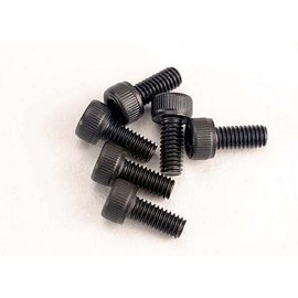 Traxxas TRA3215   2.5x6mm Cap-Head Machine Screws (Hex) (6)