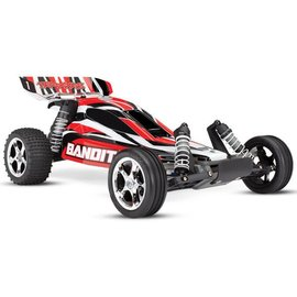 Traxxas TRA24054-4 REDX  Bandit: 1/10 Scale Off-Road Buggy with TQ 2.4GHz radio system