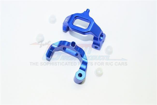 GT019-B Blue Aluminum C Hubs Traxxas 4TEC 2 0