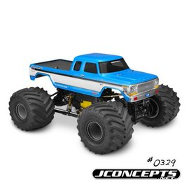 "J Concepts JCO0329  1979 Ford F-250 SuperCab Monster Truck Body w/ Bumpers-7"" Width & 12.75"" Wheelbase"
