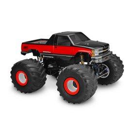 "J Concepts JCO0332   1988 Chevy Silverado Monster Truck Body-7"" Width & 11"" Wheelbase"