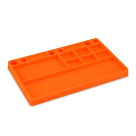 J Concepts JCO2550-6  Parts Tray Orange Rubber Material