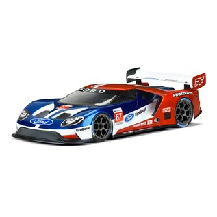 Proline Racing PRM1550-25  Ford GT Light Weight Clear Body, for 190mm