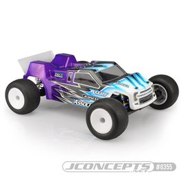 J Concepts JCO0355  F2 Finnisher Clear Body w/ Rear Spoiler: T6.1
