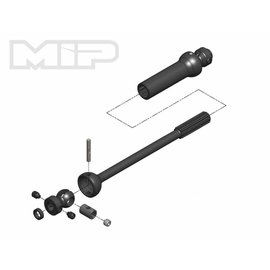 MIP MIP18170  X-Duty Center Drive Kit, Single Shaft, 140mm to 165mm w/ 5mm Hubs, for Axial Yeti