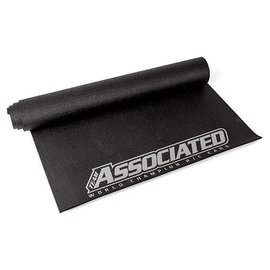 Team Associated ASCSP428  AE 2018 Pit Mat, black, silver lettering