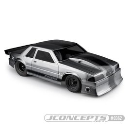 J Concepts JCO0362  1991 Ford Mustang Fox Body for Short Course  10.75 x13