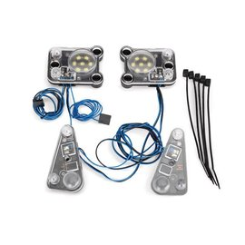 Traxxas TRA8027  TRX-4 LED headlight/tail light kit(fits #8011 body, requires #8028 power supply)