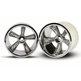 Traxxas TRA4172 TRX Pro-Star 2.2 chrome wheels 12mm Hex (2)