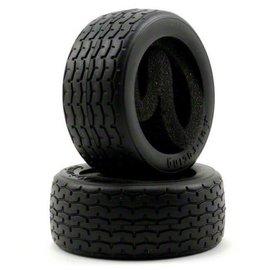 HPI HPI4793  Vintage Racing Tire, D-Compound, 26mm (2)