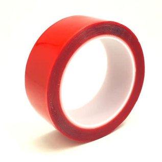 "Trinity 6004 Mega Roll Double Sided Clear Servo Tape .5mm x 1.5"" x 16'"