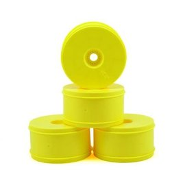 "J Concepts JCO3369Y  Yellow Bullet - 4.0"" 1/8th Truck Wheel (4)"