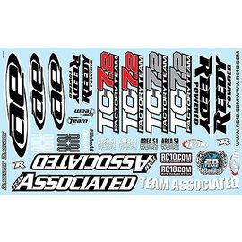 Team Associated ASC31810  Decal Sheet  TC7.2