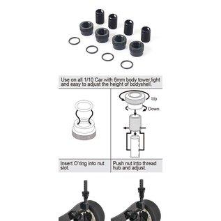 BLITZ BLZ60603-V3  Blitz Adjustable Body Post (4 sets)