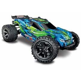 Traxxas TRA67076-4  Green Rustler 4X4 VXL Brushless RTR 1/10 without Battery/Charger