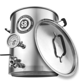 Spike V3 10 Gallon Brew Kettle- 2 Vertical Couplers