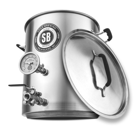 Spike V3 10 Gallon Brew Kettle- 2 Vertical Couplers