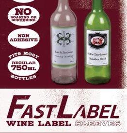 Accessories FastLabel 16-26 oz. Wine/Bomber Label