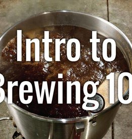 Intro to Brewing Sat 3/9/19  9 AM - Noon