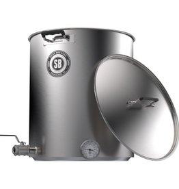 Spike V4 10 Gallon Brew Kettle- 2 Horizontal Couplers