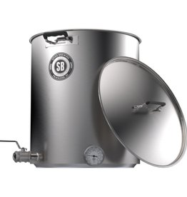 Spike V4 15 Gallon Brew Kettle- 2 Horizontal Couplers