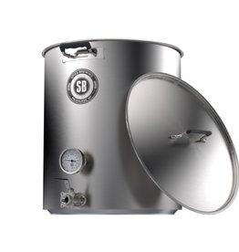 Spike V4 15 Gallon Brew Kettle- 2 Vertical Couplers