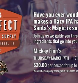 Mickey Finn's Brewery Series Class