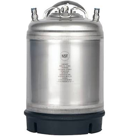 New 2.5 Gallon Ball Lock Keg- Single Handle