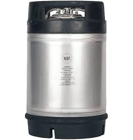 Draft Hardware New 2.5 Gallon Ball Lock Keg- Dual Handle