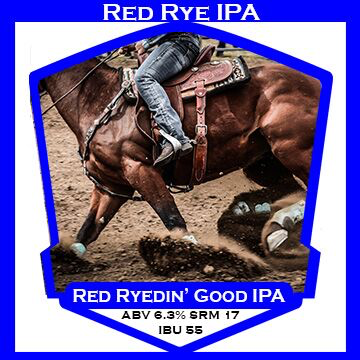 Red Ryedin' Good IPA- PBS Kit