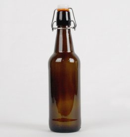 Amber Flip-Top Bottles 500ml Case/12