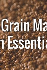 Intro to All Grain Mash Essentials, 2/16/20