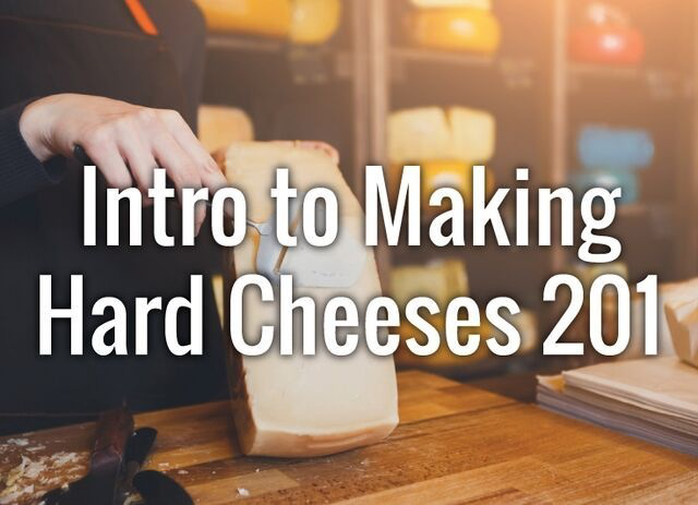 Cheese Intro to Hard Cheese 1/25/20