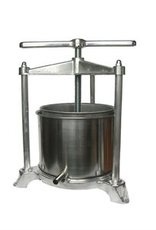 Wine Fruit Press Aluminum / Stainless Cage