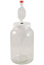 1 Gallon Glass Jar Fermenter Kit