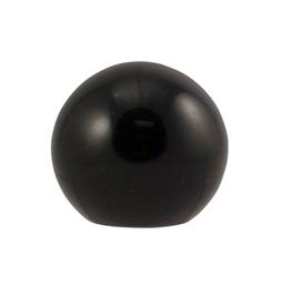 Accessories Black Round Faucet Knob