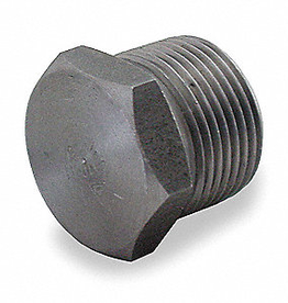 """1/2"""" NPT SS Hex Plug for Kettles"""