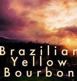 Coffee Brazilian Yellow Bourbon Whole Bean Coffee 1 lb