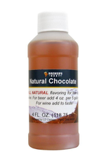 Natural Chocolate Flavoring Extract- 4 oz