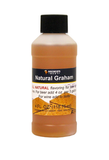 Natural Graham Flavoring Extract- 4 oz